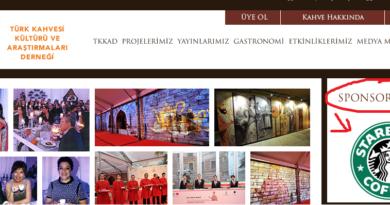 Türk Kahvesi Kültürü Ve Araştırmaları Derneği ve Starbucks